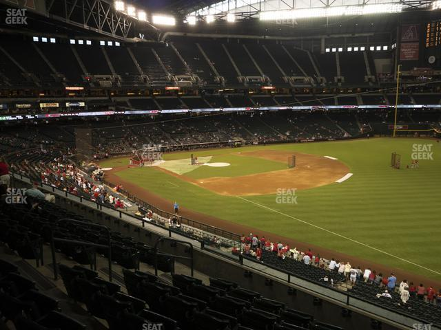 Chase Field Section 202 view