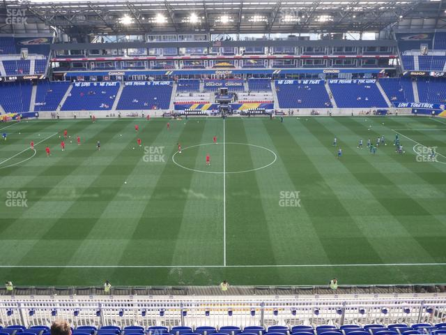 Red Bull Arena Section 226 view