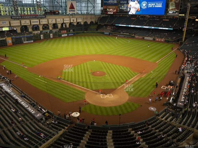 Minute Maid Park Section 318 view