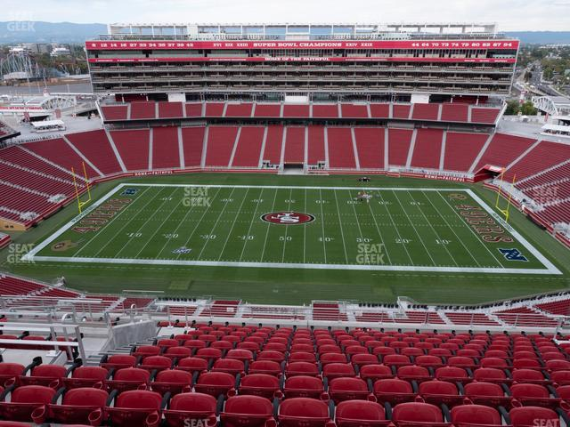 Levi's Stadium Section 411 view