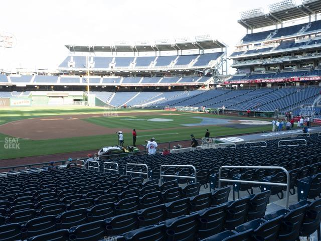 Nationals Park Section 114 view