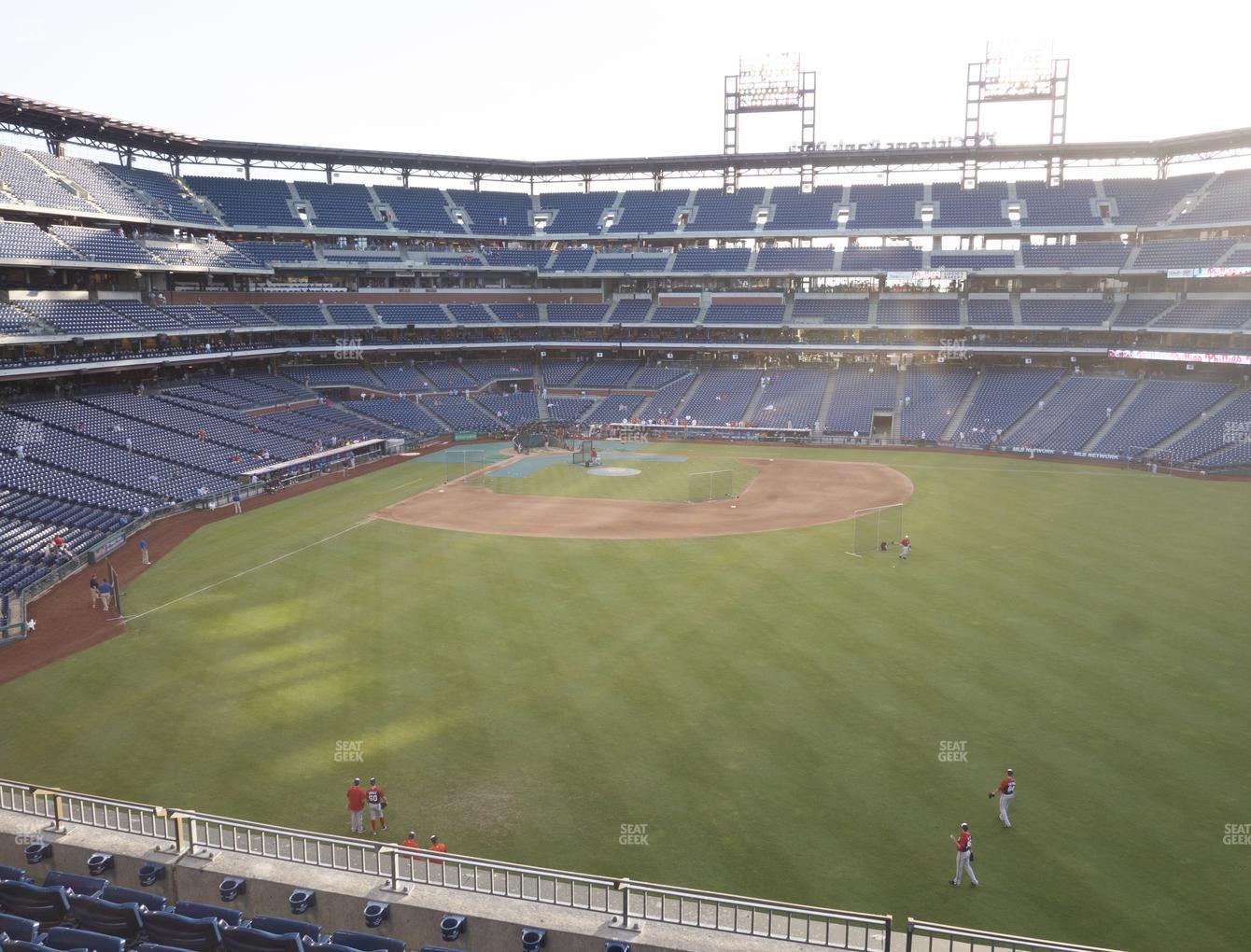 Philadelphia Phillies at Citizens Bank Park Section 202 View