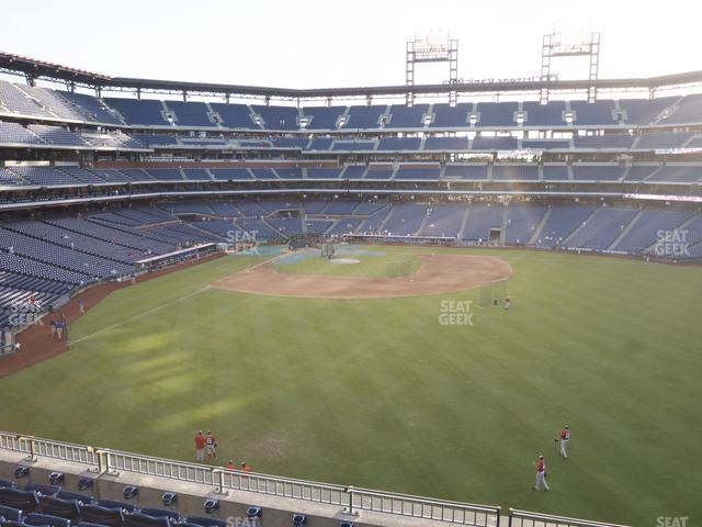 Citizens Bank Park Section 202 view