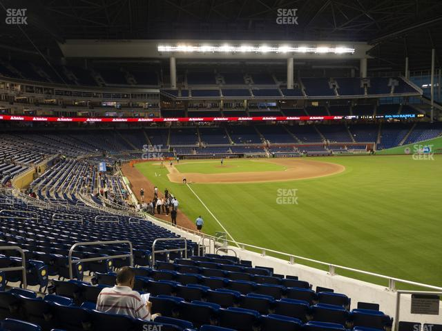 Marlins Park Section 1 view
