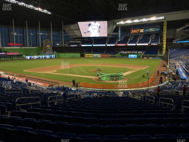 Marlins Park Section 16 view