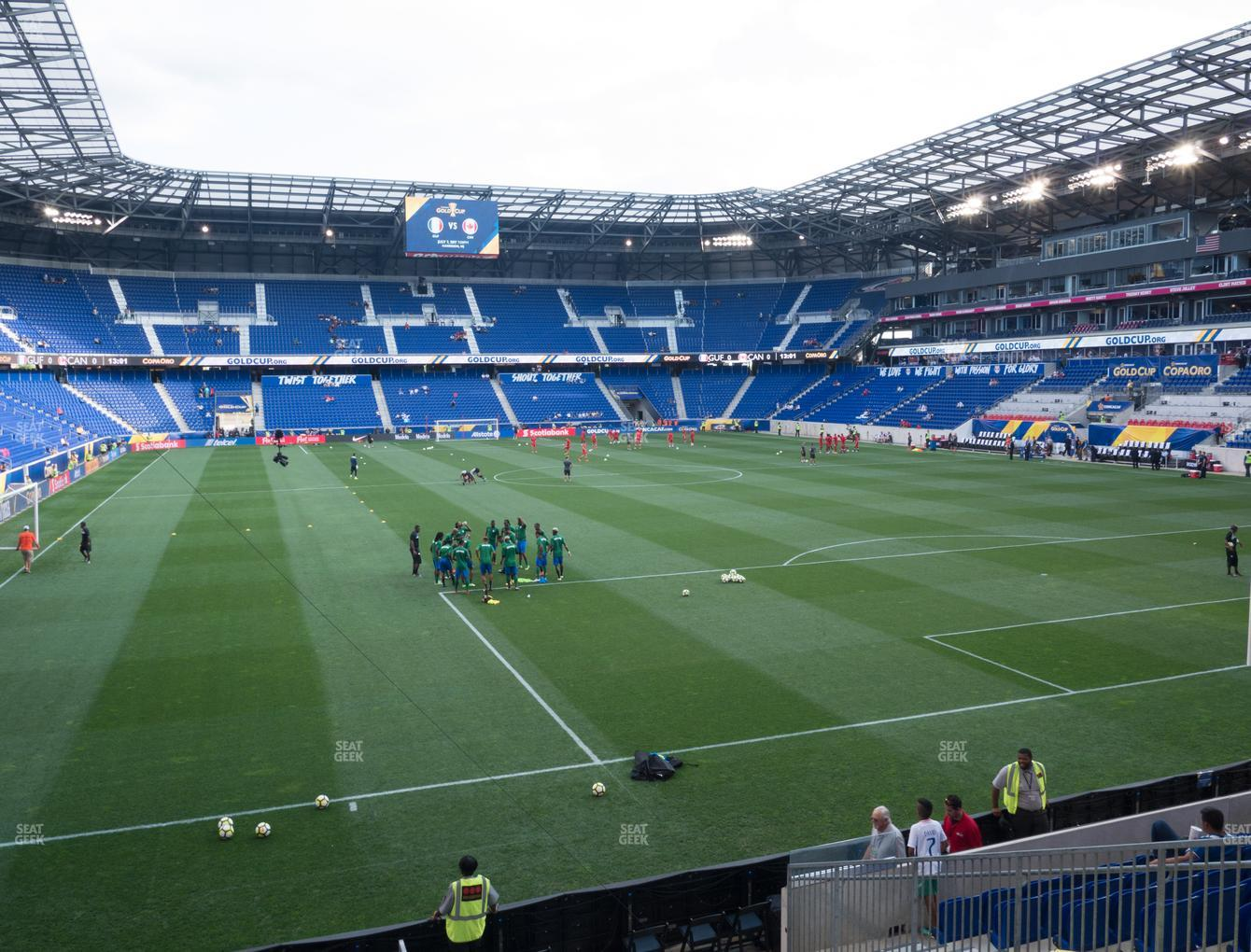 New York Red Bulls at Red Bull Arena Section 120 View
