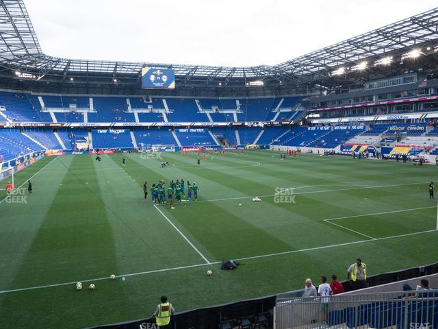 Red Bull Arena Section 120 view