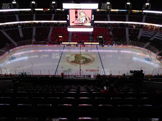 Canadian Tire Centre Section 322 view