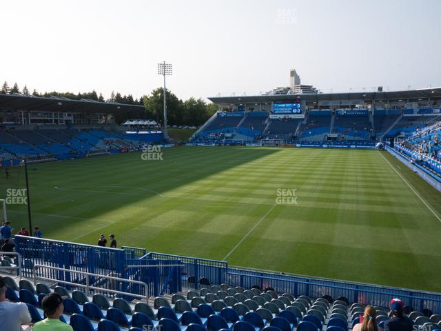 Saputo Stadium Section 130 view