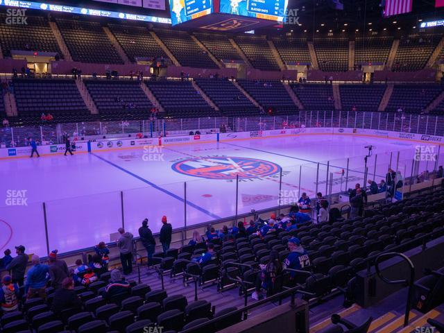 Nassau Veterans Memorial Coliseum Section 105 view