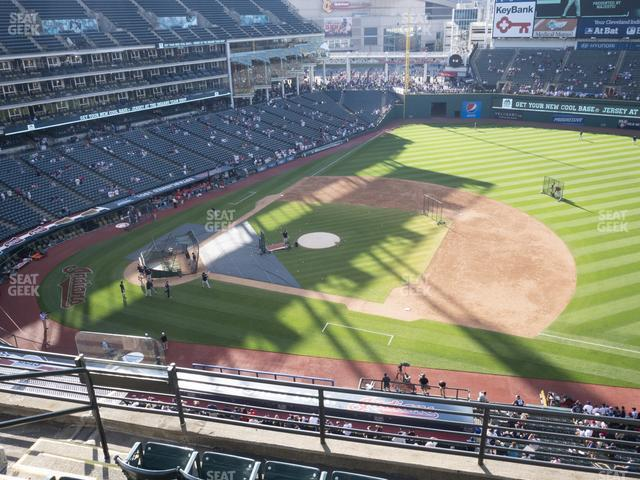 Progressive Field Section 440 view