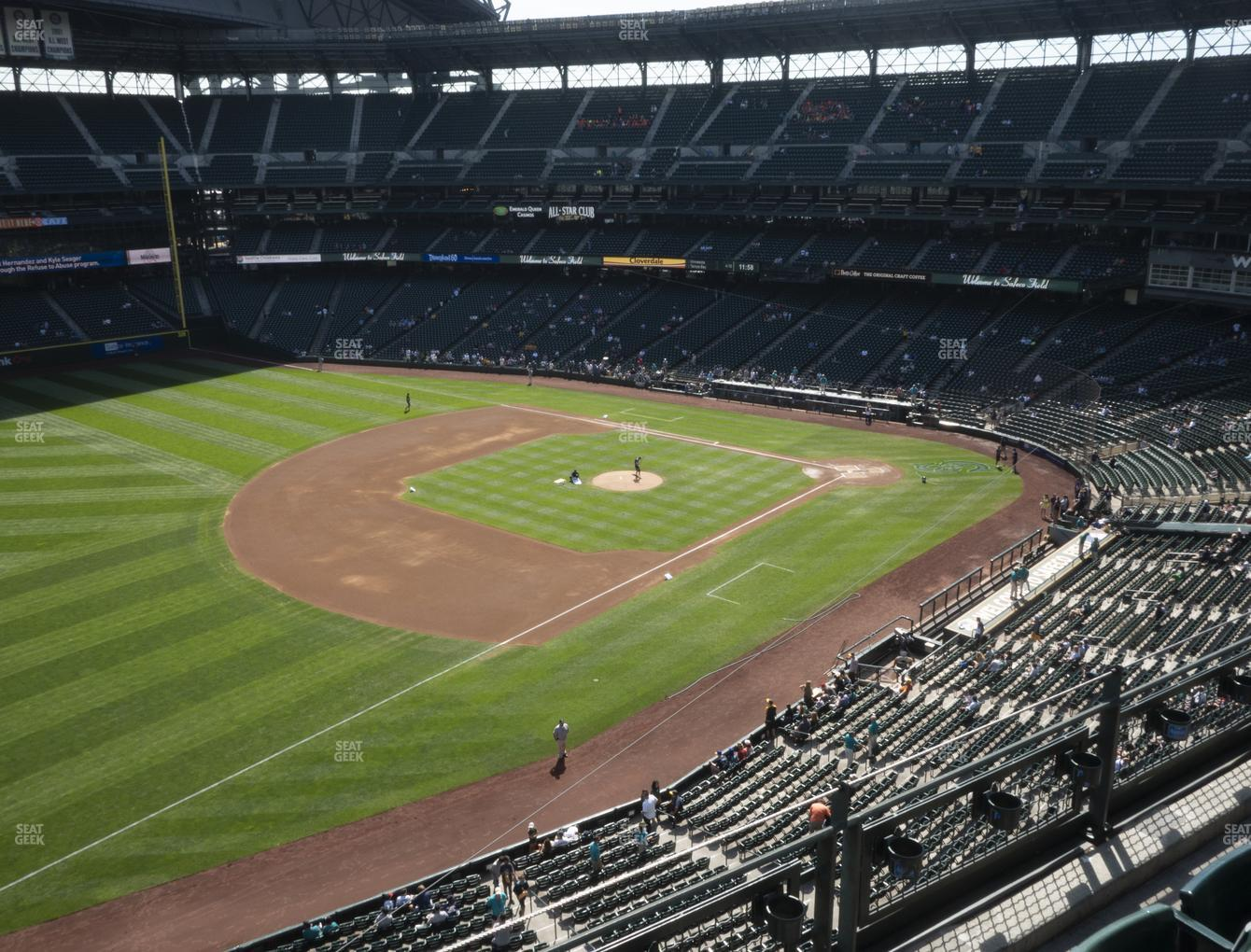 Seattle Mariners at T-Mobile Park Section 344 View