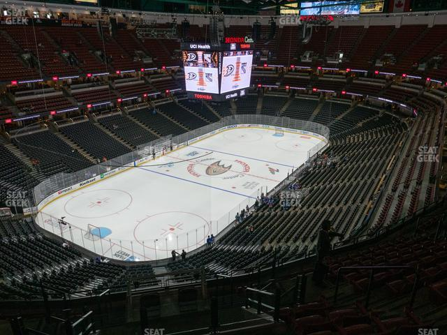 Honda Center Section 418 view