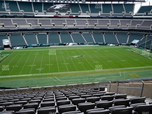 Lincoln Financial Field Section C 39 view