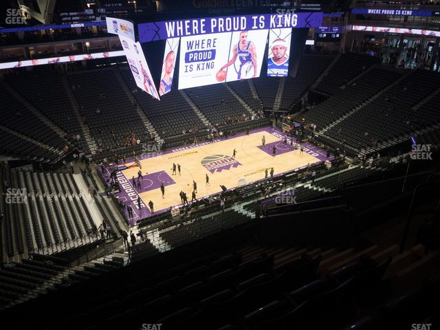 Golden 1 Center Section 207 view