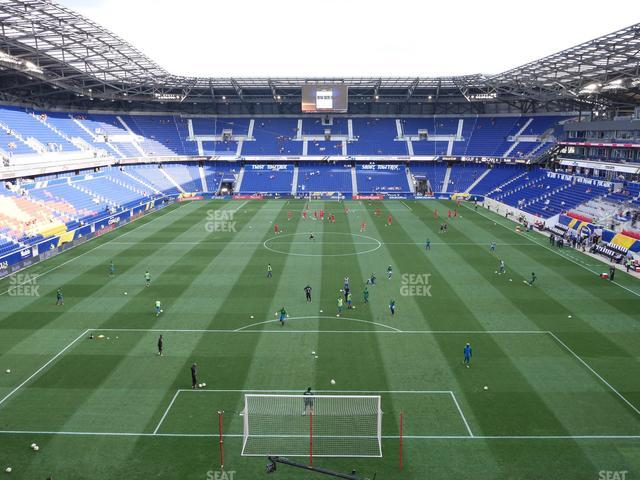Red Bull Arena Section 218 view