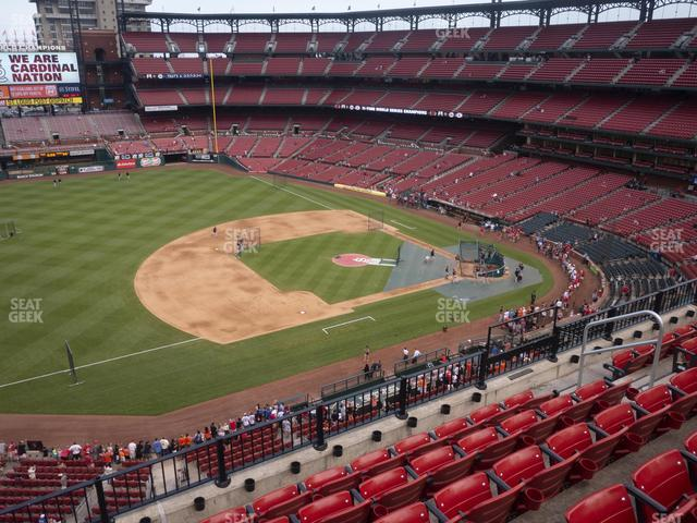 Busch Stadium Third Base Pavilion 359 view