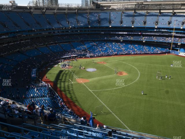 Rogers Centre Section 511 R view