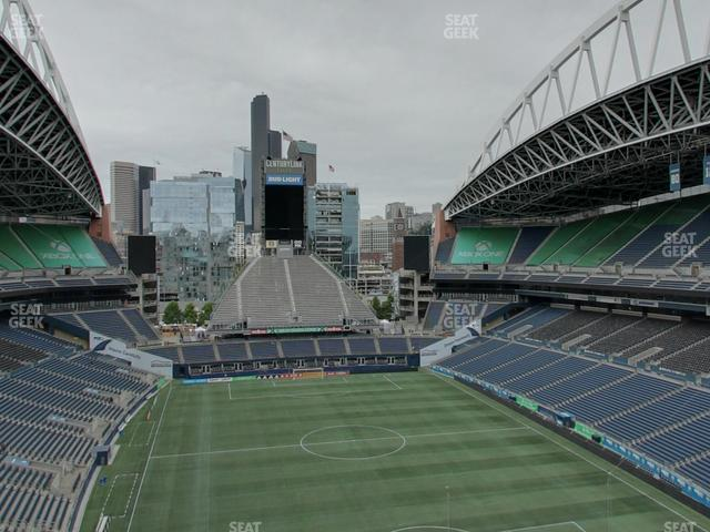 CenturyLink Field Upper 324 view