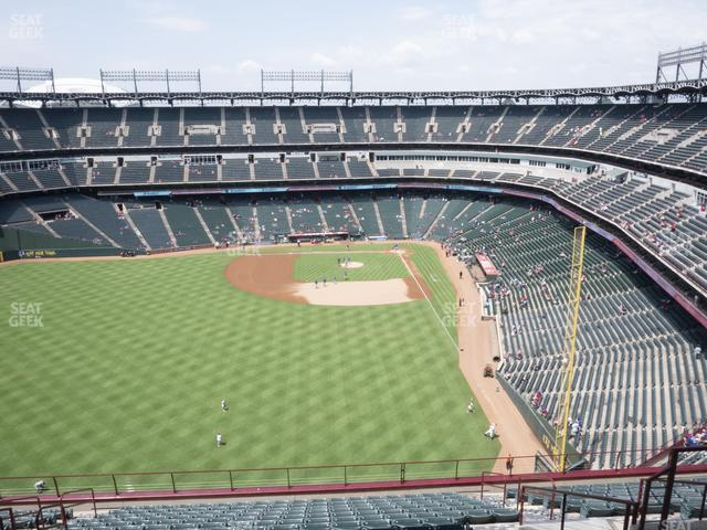 Globe Life Park Section 304 view