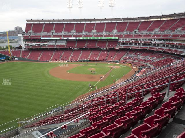 Great American Ball Park Section 410 view