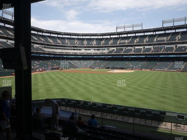 Globe Life Park Section 49 view
