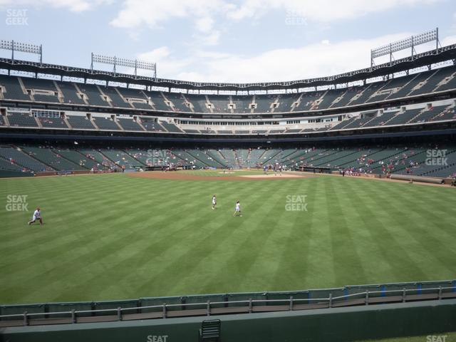 Globe Life Park Section 53 view