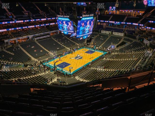 Spectrum Center Section 230 view
