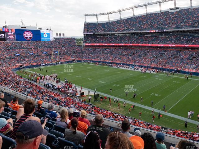Empower Field at Mile High Section 331 view