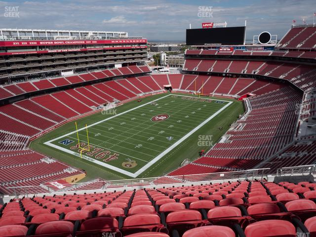 Levi's Stadium Section 420 view
