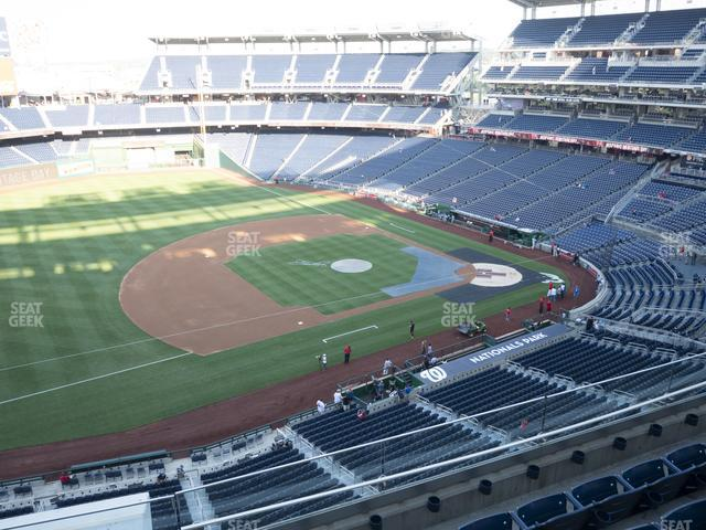 Nationals Park Section 306 view