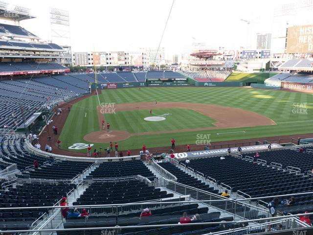 Nationals Park Section 217 view