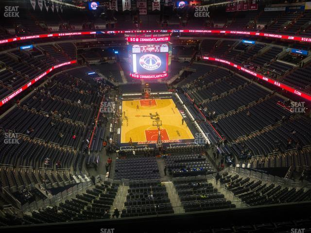Capital One Arena Section 408 view