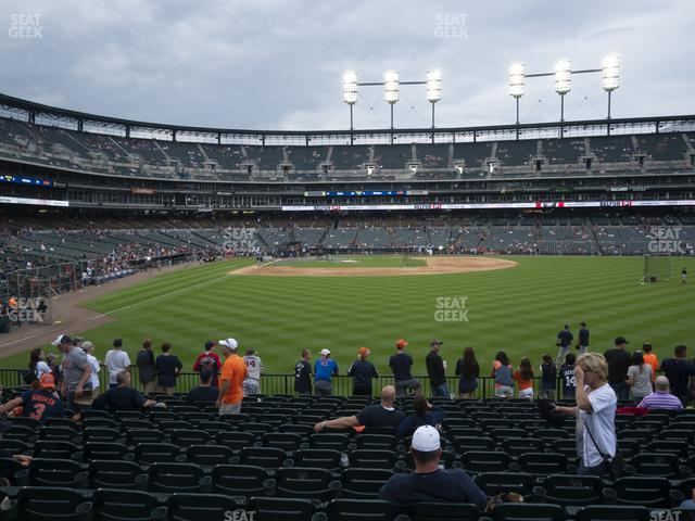 Comerica Park Section 105 view