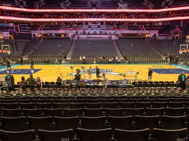 Spectrum Center Section 105 view