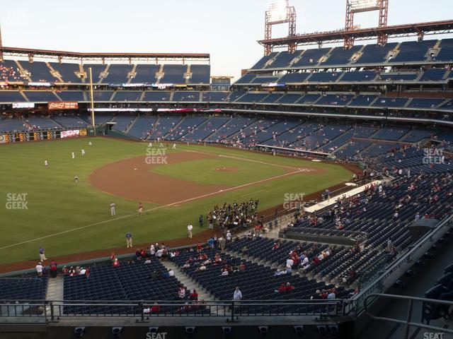 Citizens Bank Park Section 233 view