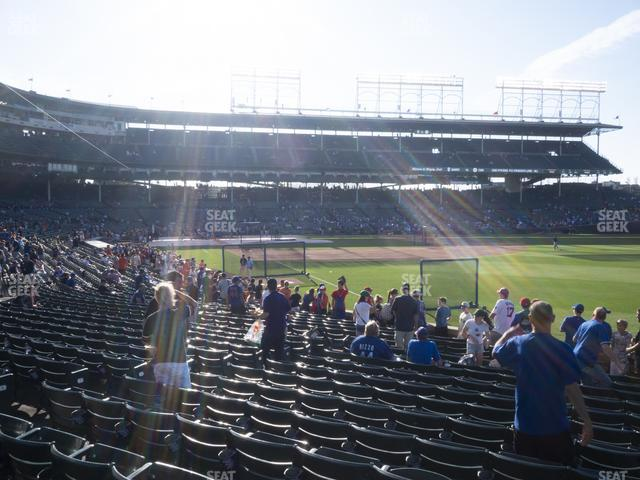 Wrigley Field Section 132 view