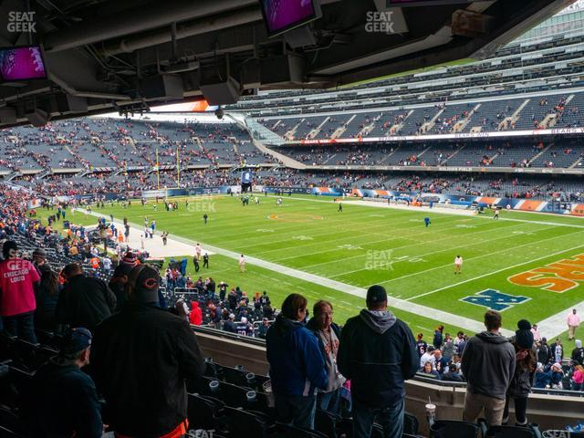 Soldier Field Section 230 view