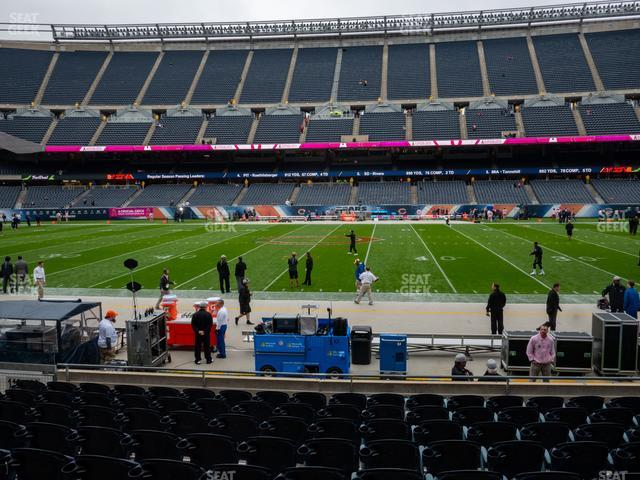Soldier Field Section 108 view