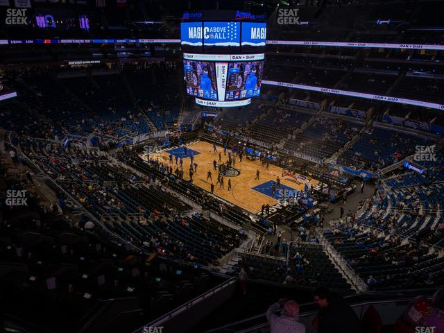 Amway Center Section 221 view