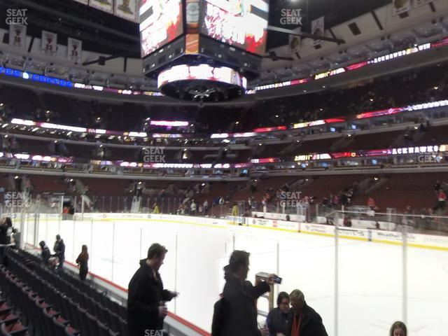 United Center Section 109 view