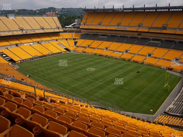 Heinz Field Section 540 view