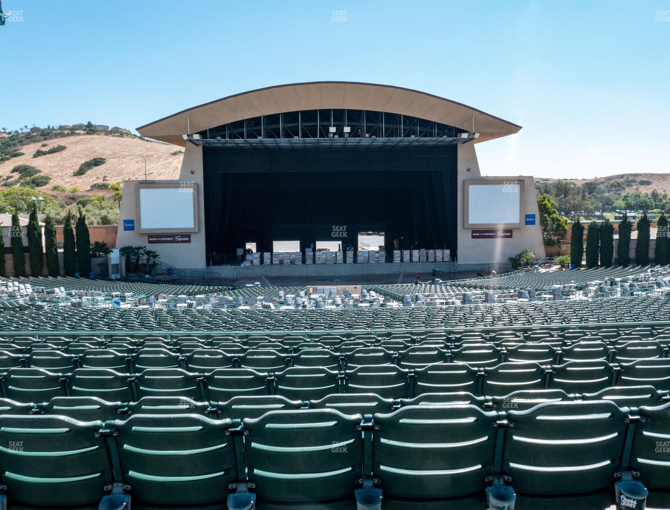 Concert at North Island Credit Union Amphitheatre Upper 303 View