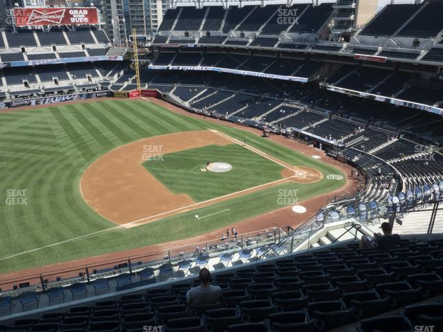 Petco Park Section 316 view
