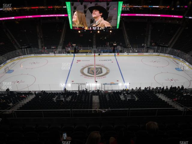 T-Mobile Arena Section 223 view
