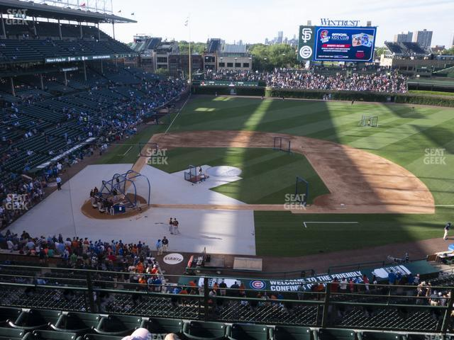 Wrigley Field 324 Right view