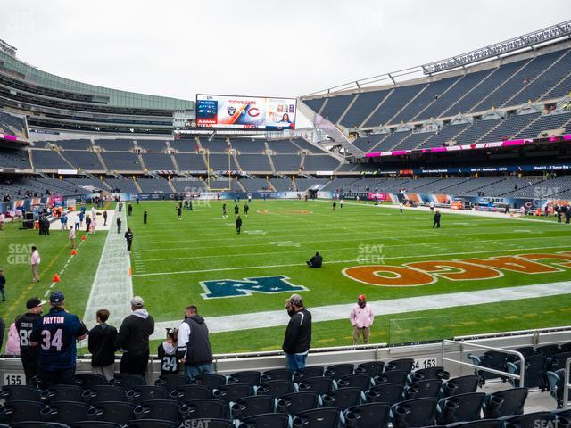 Soldier Field Section 154 view