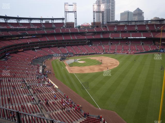 Busch Stadium Right Field Pavilion 331 view