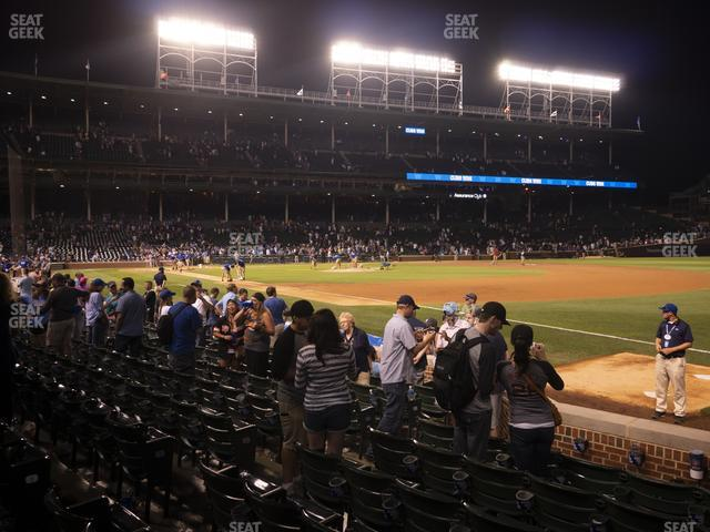 Wrigley Field Club Box Outfield 30 view