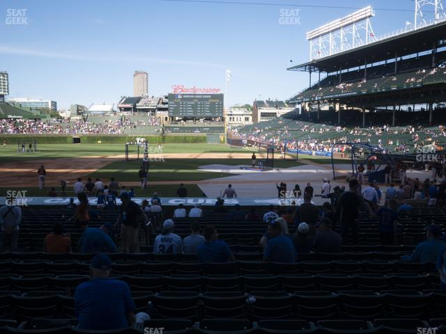 Wrigley Field Section 113 view